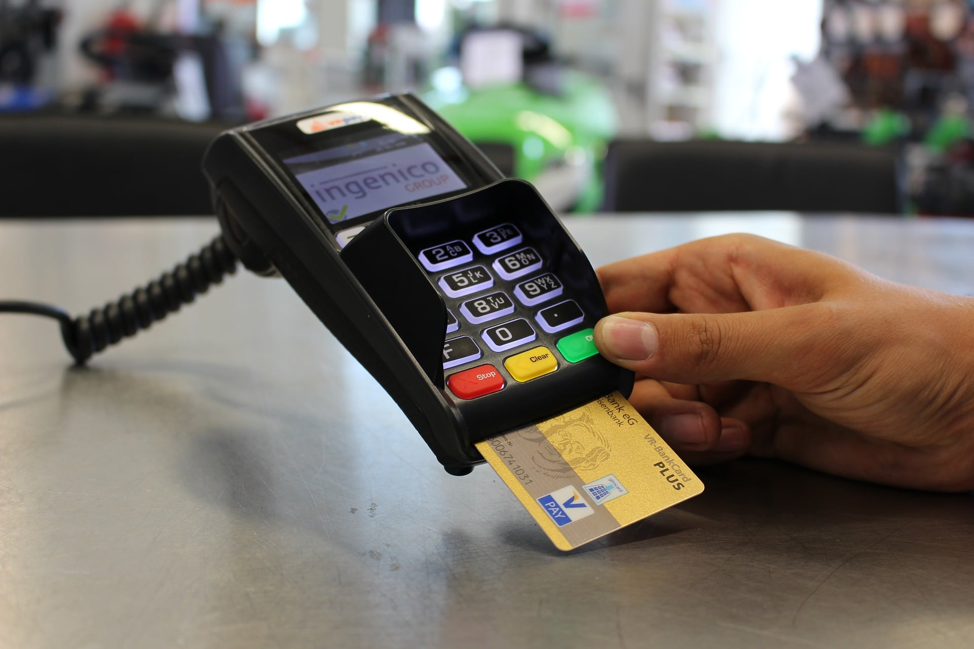 Accepting credit card in business