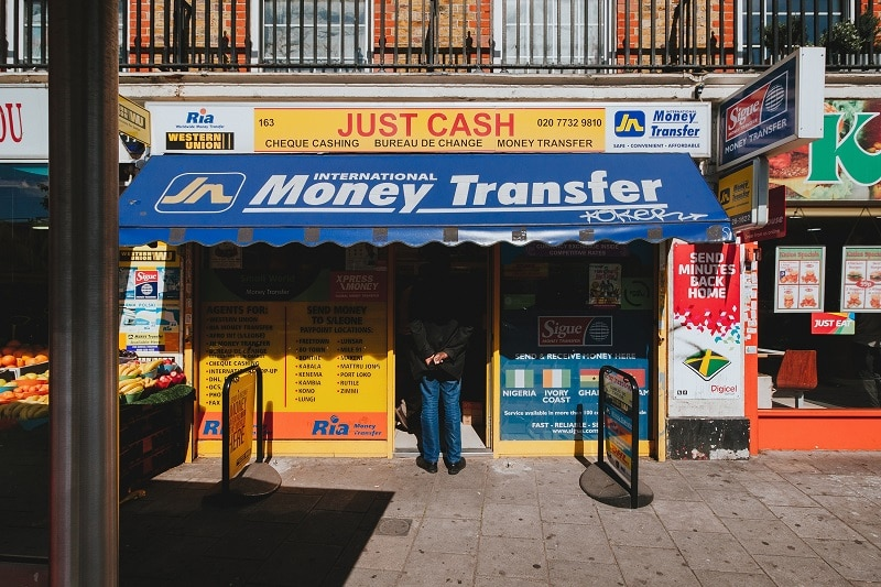 money transfer abroad